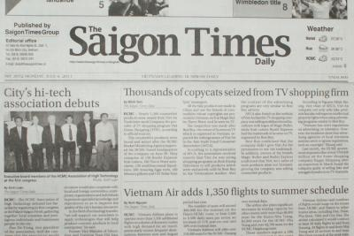 CONGRESS OF ESTABLISHMENT OF HIGH TECHNOLOGY ASSOCIATION - THE SAIGON TIMES DAILY